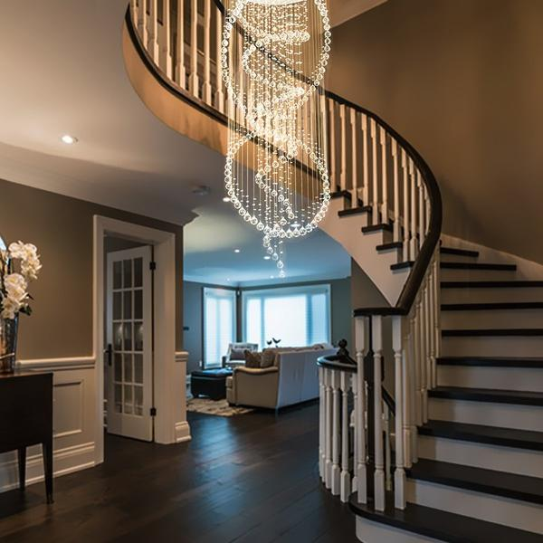 Top Tips to Find a Chandelier that Best Fits the Aesthetic Appeal of Your Stairways